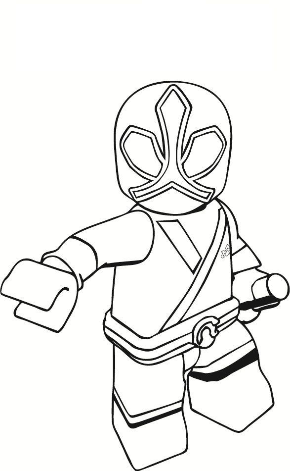 Power Ranger Printable Coloring Pages Zach attack
