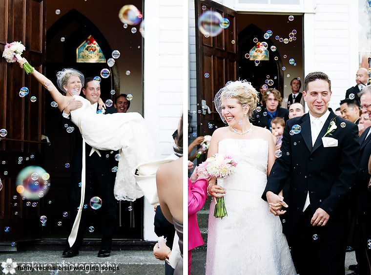 Funny Recessional Wedding Songs