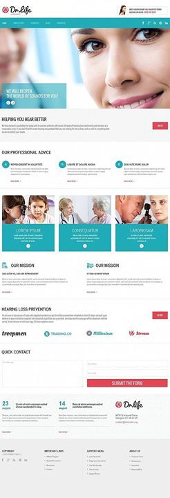 inspire yourself medical moto cms html template click here live