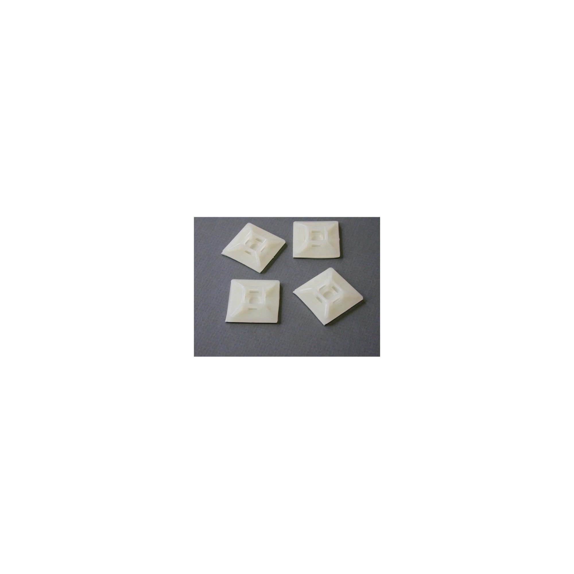 62f0b81a35e1 StarTech Self-adhesive Nylon Cable Tie Mounts - Pkg of 100 - Cable Tie Mount
