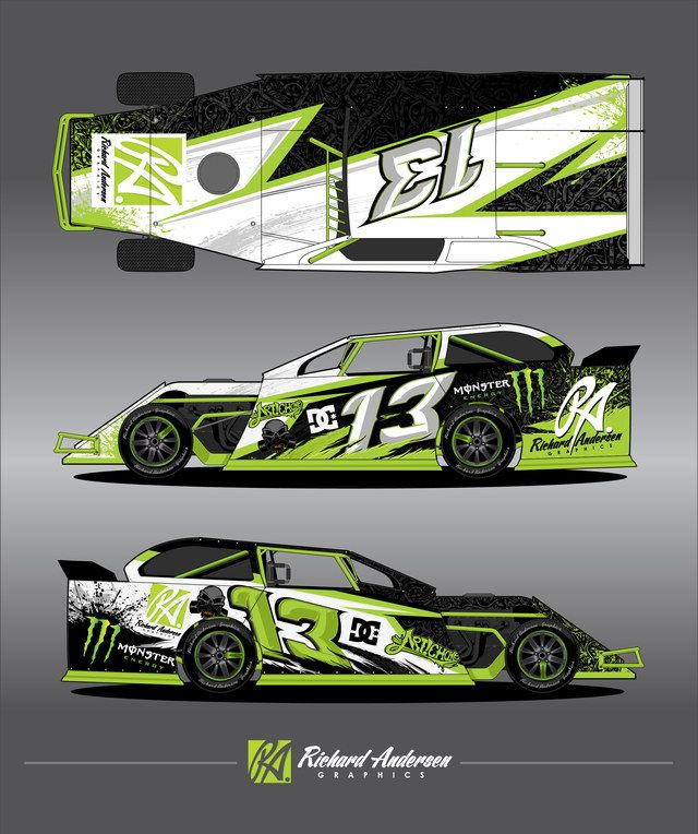 Race Car Wrap Design Gr 225 Ficos Pinterest Car Wrap