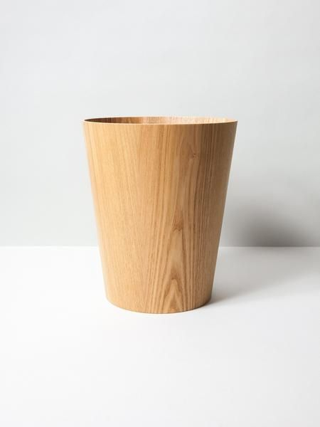 Wooden Wastebasket Saito Wooden Wastebasket  Simple Designs Plywood And Midcentury