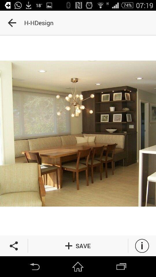 Sofá e janelas sala jantar