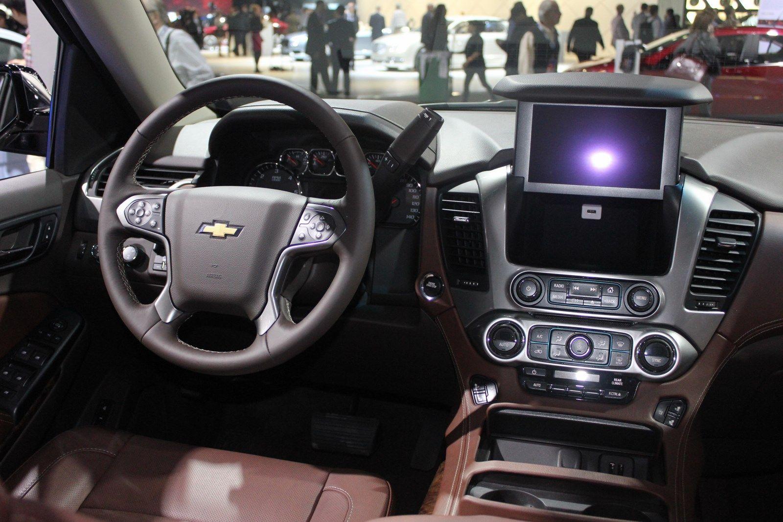 2016 Chevrolet Suburban Inside | Chevrolet suburban, Chevrolet and ...