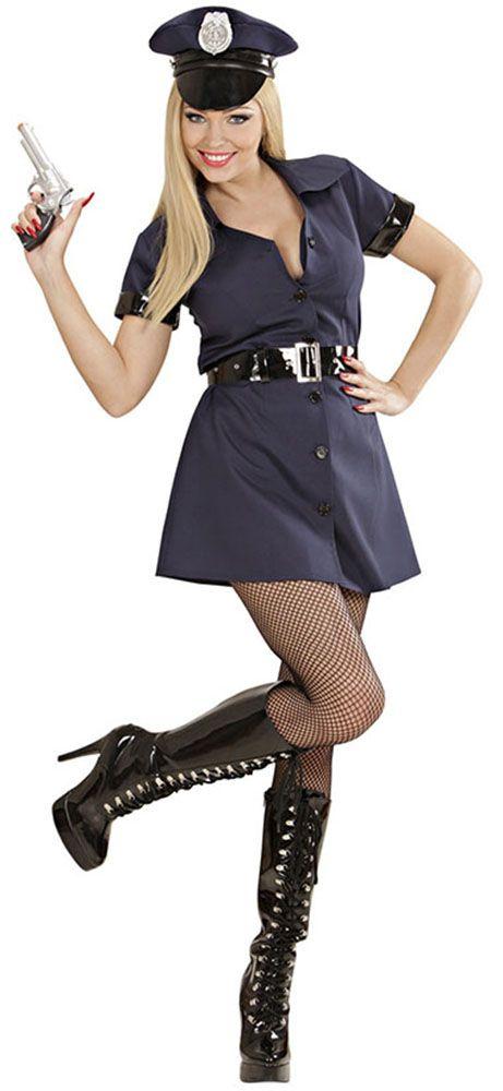 1d46ea31c2 Disfraz de policía para mujer