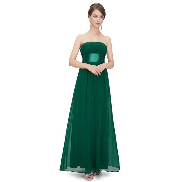 Ever-Pretty Ever Pretty Empire Waist Bowtie Strapless Evening Dress ...