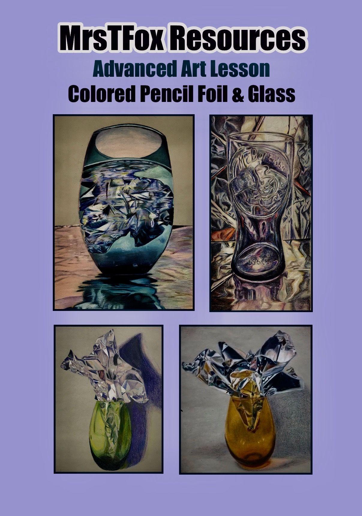 Advanced Art Lesson In Colored Pencil