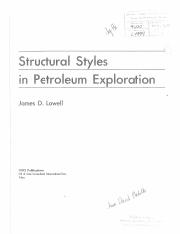 Lowell Structural Styles In Petroleum Exploration Pdf Structures Pdf Explore