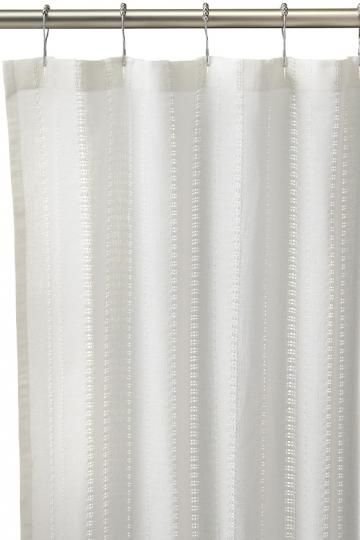 Eyelet Shower Curtain Cotton Shower Curtain Fabric Shower