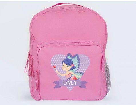 Ironing picture fairy birthday school bag