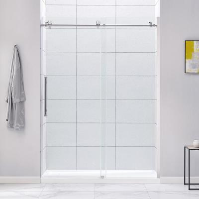 Vigo Elan 56 To 60 In X 74 In Frameless Sliding Shower Door In