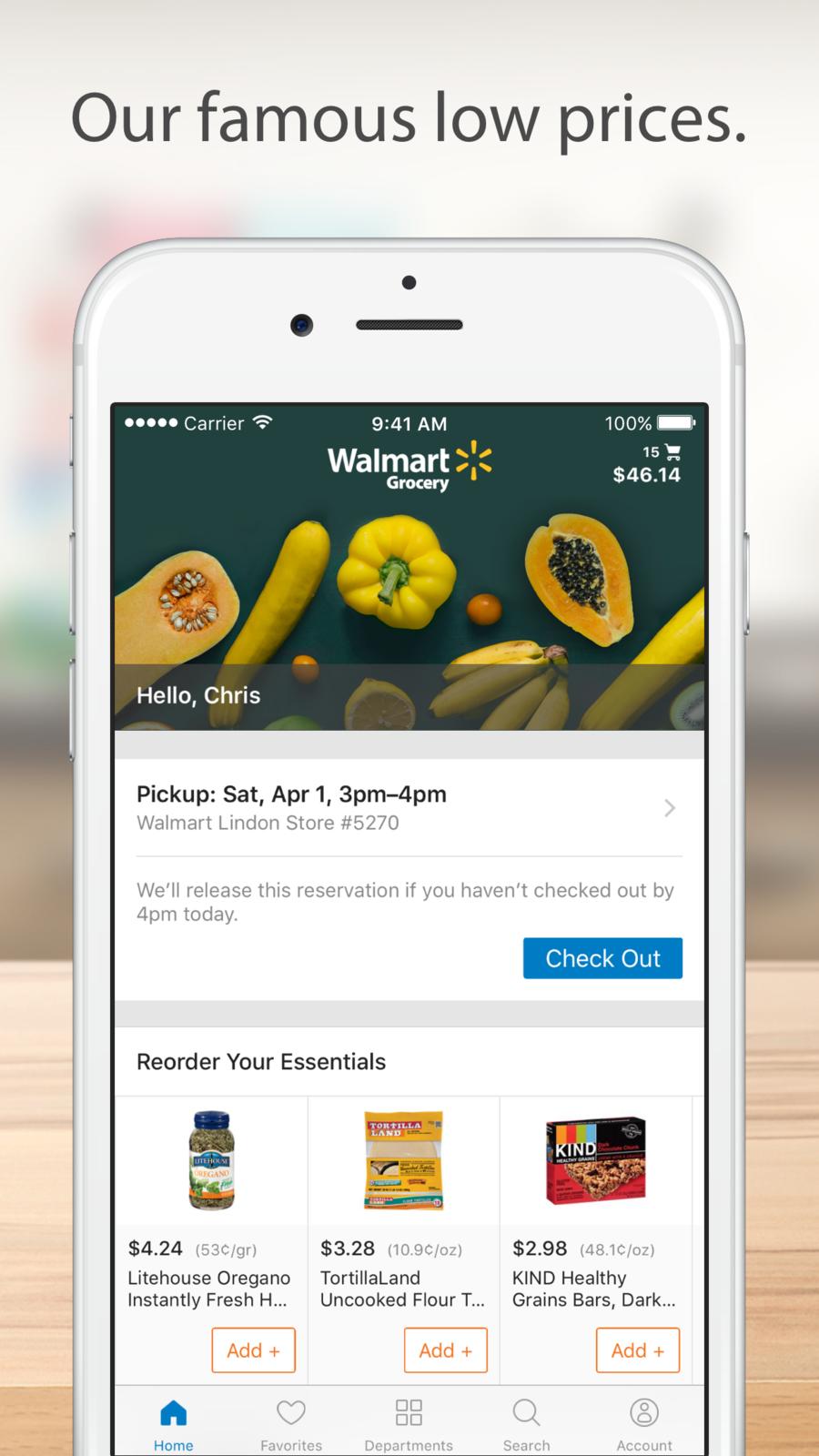 Walmart Grocery iosappsappLifestyle