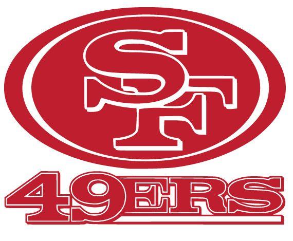 San Francisco 49ers Logo Vinyl Decal Sticker San Francisco 49ers Logo San Francisco 49ers Team Decal