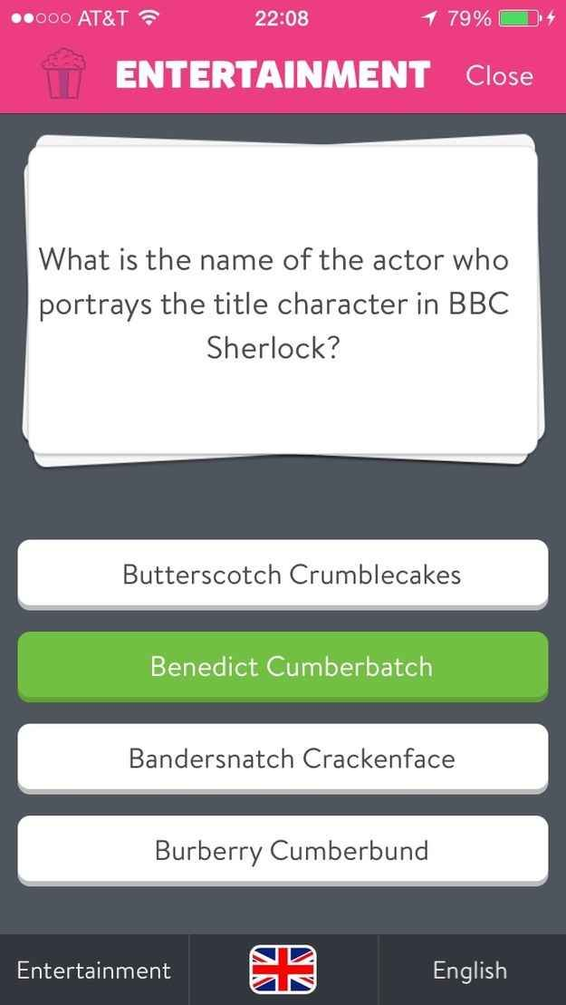 Loved Bandersnatch Crackenface in Sherlock    Geekery   Trivia crack