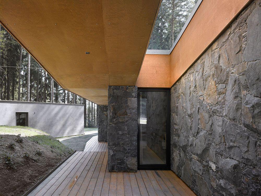 Modern Natural Stone : Pin by thomas davis on houses pinterest stone facade