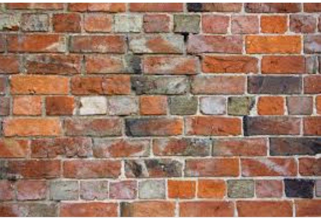 English garden wall bonding. in 2020 | Types of bricks, Brick bonds, Brick