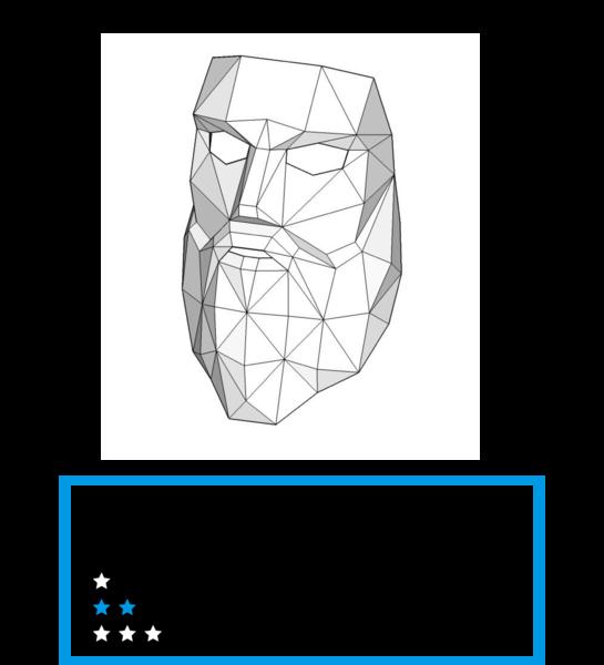 Bearded Man Mask - Wintercroft