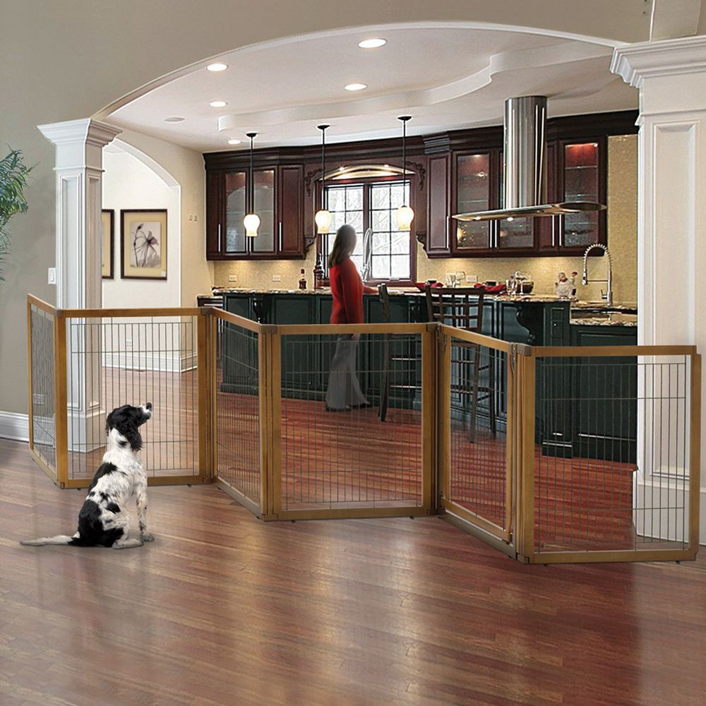 6 panel convertible pet gate diy dog gate pet gate