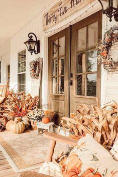 Rustic Fall Porch Décor #rusticdecor  Explore DIY fall decorations ideas for home. Learn how to decorate your outdoor porch and indoor space. #glaminati #homedecor #falldecorations  Rustic Fall Porch Décor #rusticdecor  Explore DIY fall decorations ideas for home. Learn how to decorate your outdoor porch and indoor space. #glaminati #homedecor #falldecorations #falldecorideasfortheporchoutdoorspaces Rustic Fall Porch Décor #rusticdecor  Explore DIY fall decorations ideas for home. Learn how t #falldecorideasfortheporchoutdoorspaces