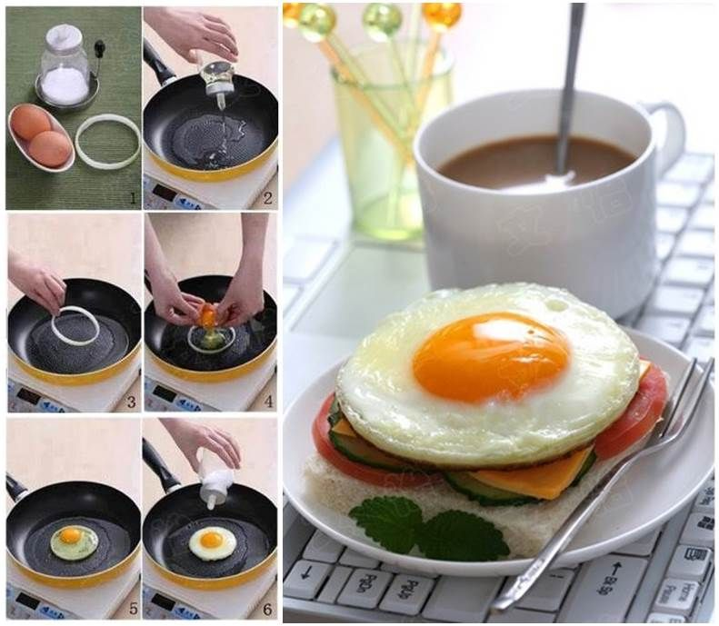 Diy perfect round shaped fried egg follow us on facebook www how to make a perfect round shaped fried egg breakfast diy do it yourself diy projects diy breakfast egg solutioingenieria Image collections