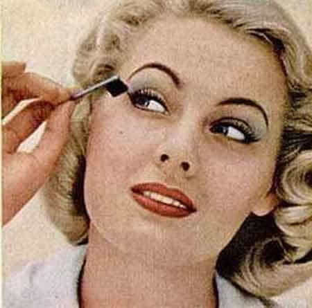 Vintage 1950 S Eye Makeup Glamour Tips Vintage Makeup Looks 1950s Hair And Makeup Vintage Makeup