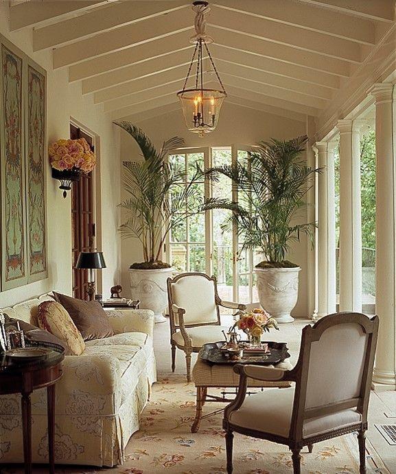 Sunroom Dining Room Ideas: Elegant Sun Room ~ Cathy Kincaid Design