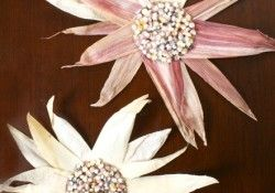Indian Corn Sunflower Craft and other fall projects