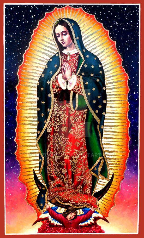 Nuestra Senora De Guadalupe 12 De Diciembre Oracion Virgen Guadalupe Virgen De Guadalupe Fotos Arte Virgen Maria