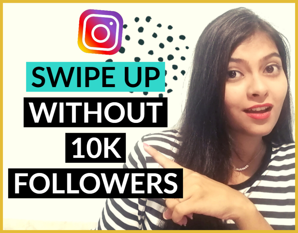 How To Add Swipe Up Link To Instagram Story Without 10k Followers Vidzmak Edit Instagram Post Instagram Story Video Editing Apps