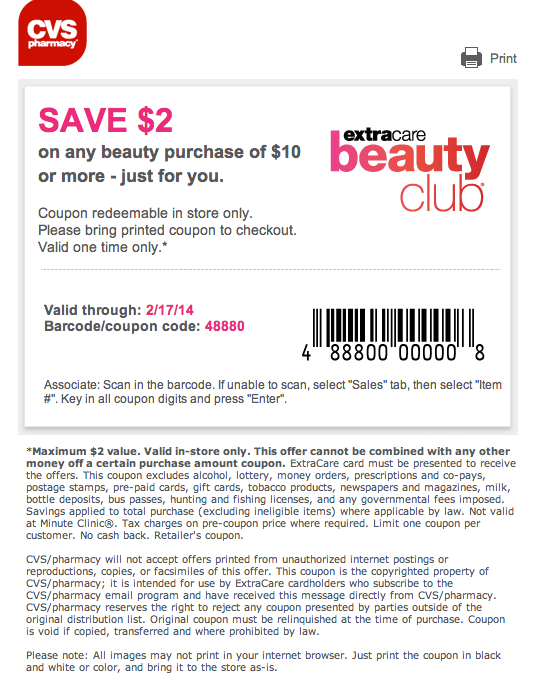 photo about Perfumania Coupon Printable referred to as CVS coupon Printable Discount coupons Absolutely free printable discount coupons