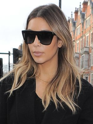Kim Kardashian Ombre 2014