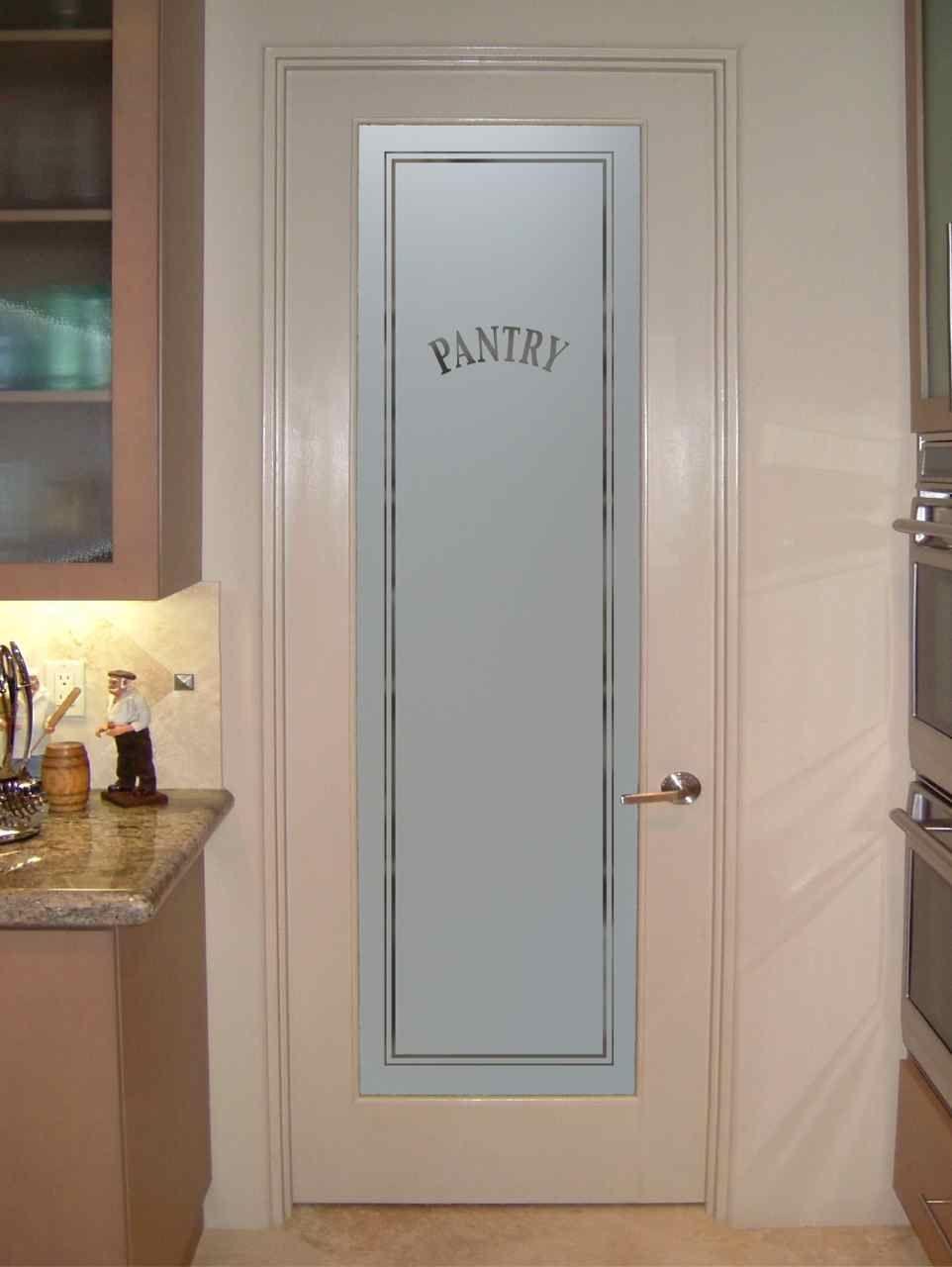 Etched glass pantry door sans soucie art glass pantry door