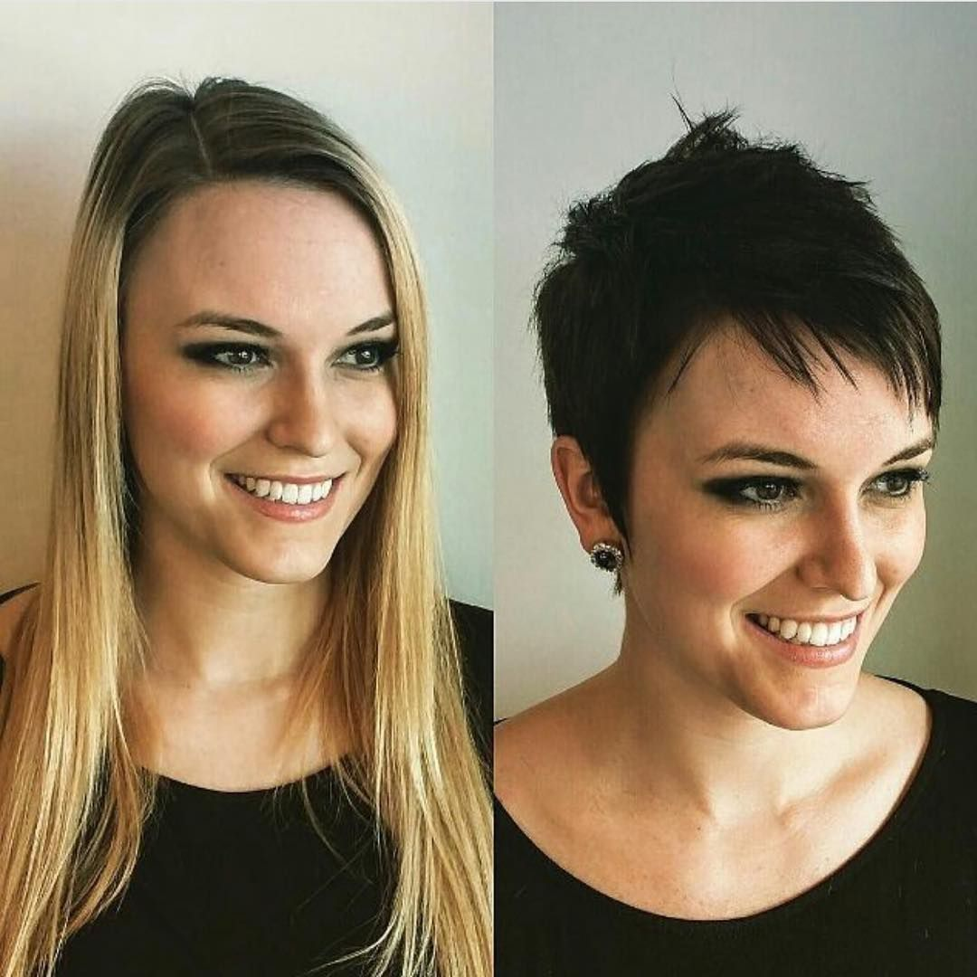 Pin by tbt on before and after ba pinterest short hair