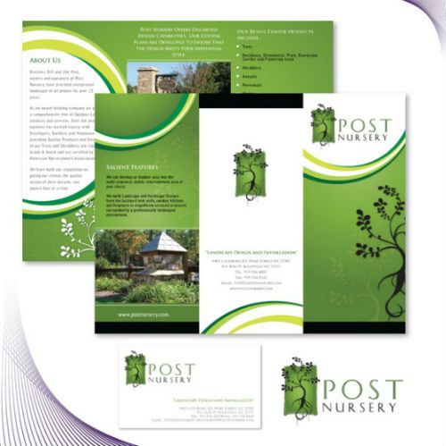 Brochure Samples Examples of Basic Brochure Designs Graphic