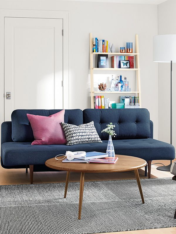 Compact and comfortable, the Deco convertible sleeper sofa is an ideal sleeper  sofa for small
