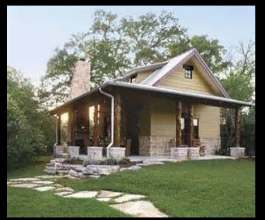 Texas Hill Country Small House Solution Put Your Stone