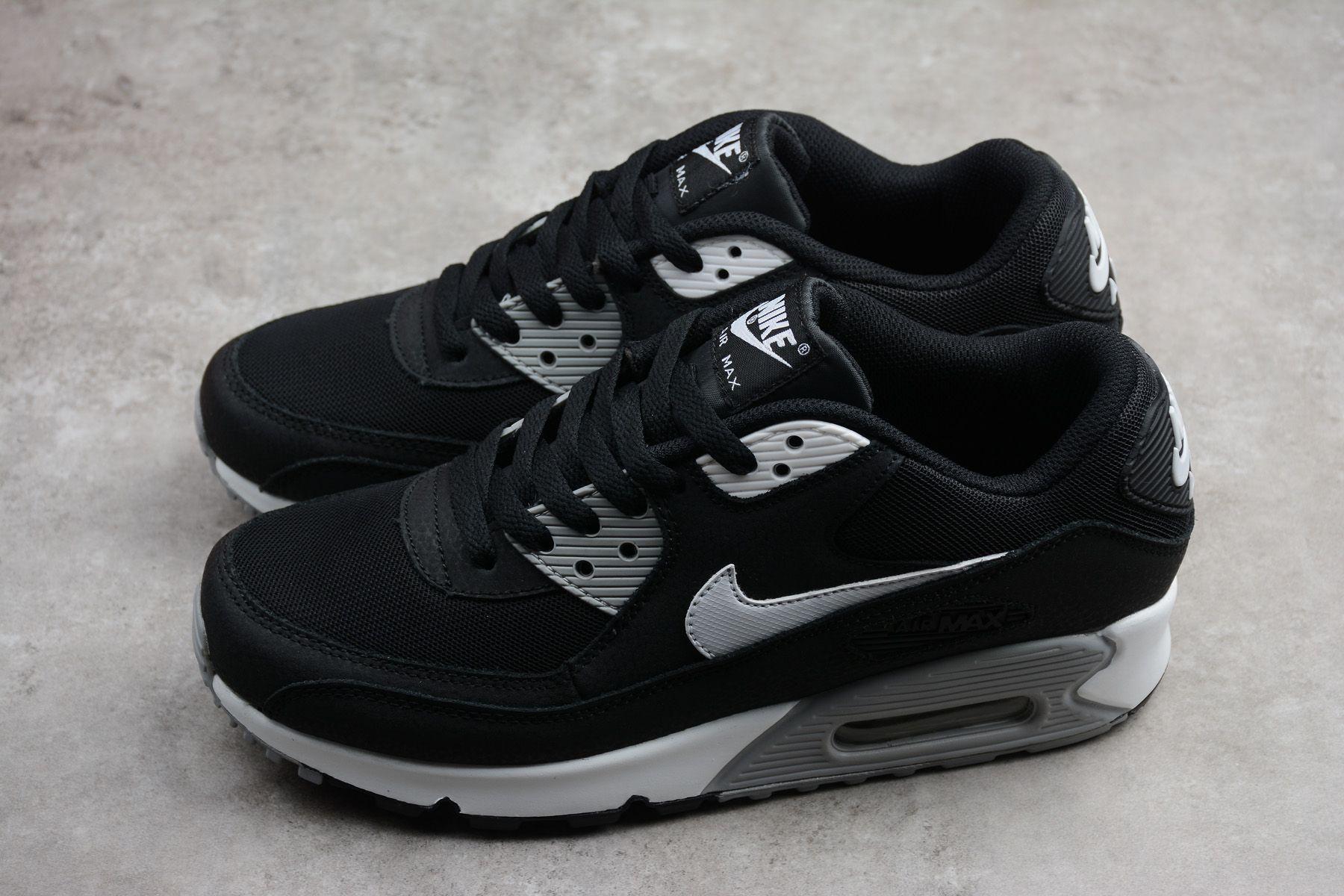 acd303ad7b6 Nike Air Max 90 Essential Black White-Dark Grey-Wolf Grey to buy online