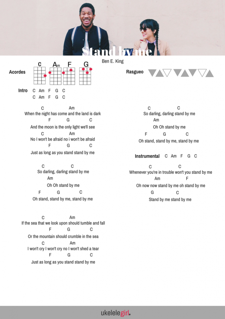 Ben E King Stand By Me Stand By Me Tablature Guitar Tabs