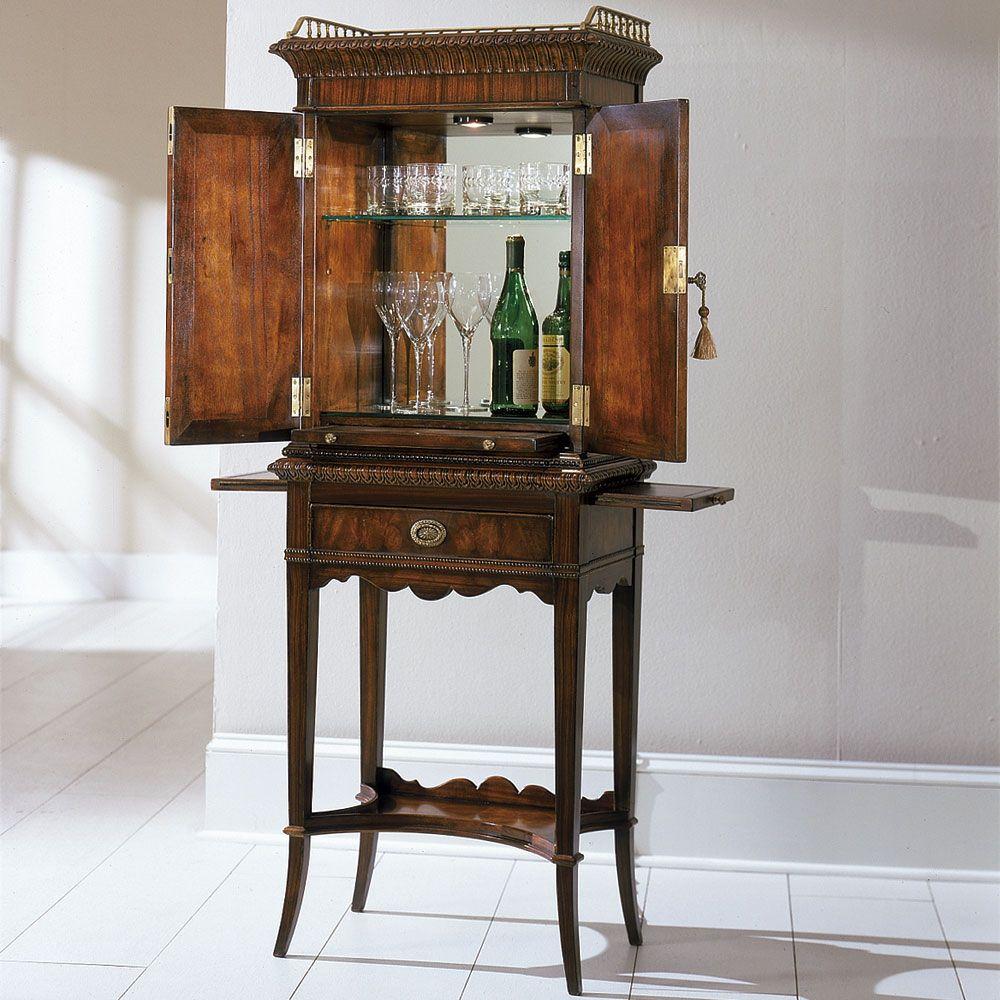 Georgian Liquor Cabinet Furniture