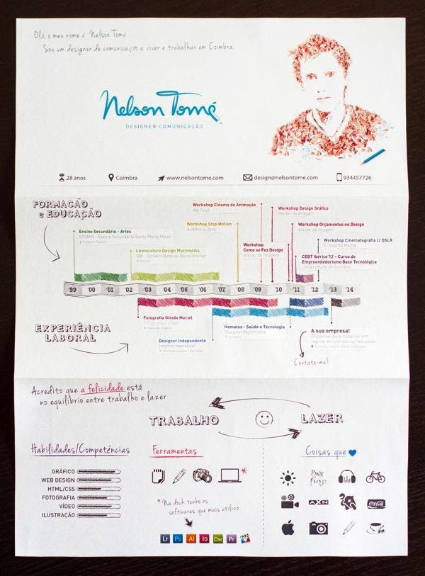 Infographic Resume Design Inspiration | Life Coaching | Pinterest