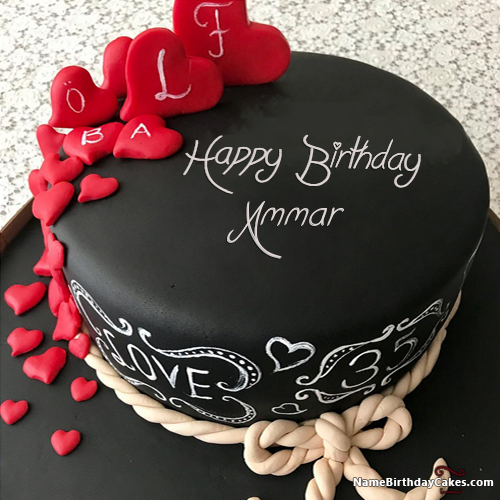 Happy Birthday Ammar Video And Images In 2019 Name