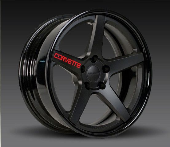 Chevy Corvette Rims Decals Wheels Car Stuff And Cars