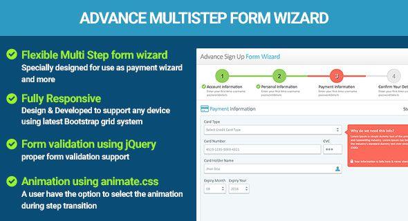Multi Step Form Wizard jQuery Validation | Multi Step Form