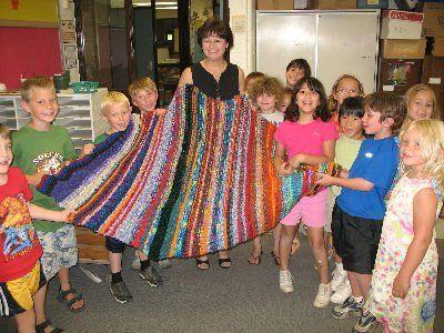 knittingfrau: Remember the finger knitting first graders?