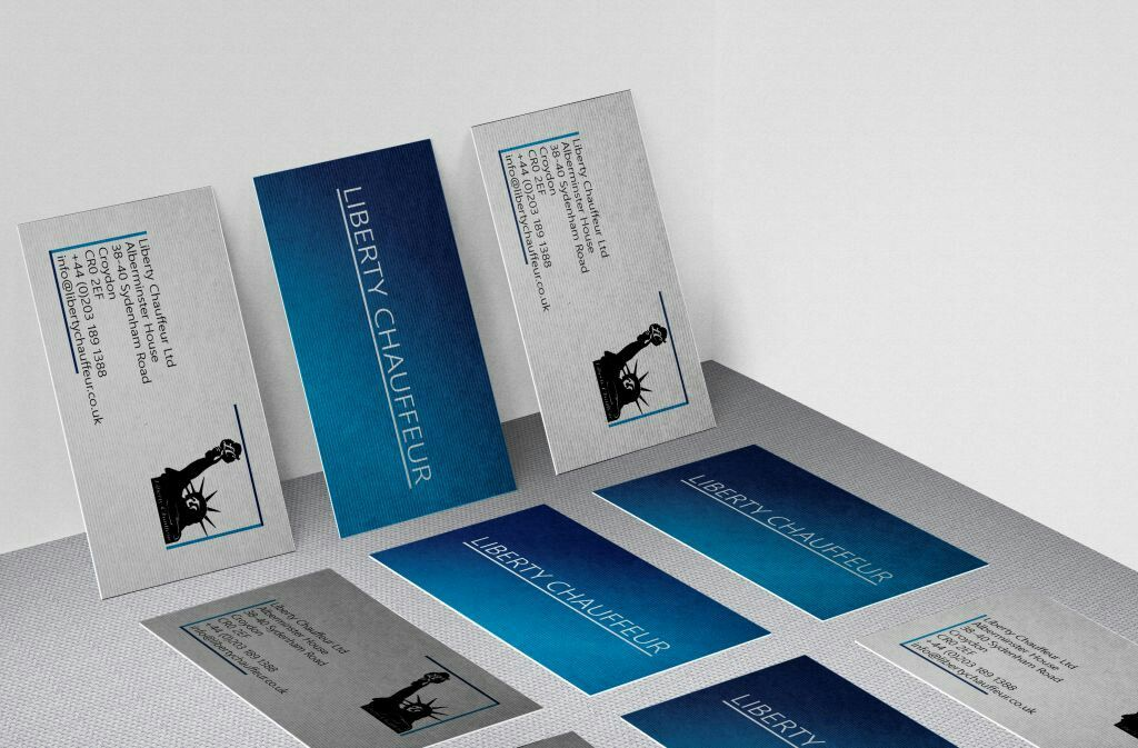 Business cards for a London chauffeur service. | Print Design by 7D ...