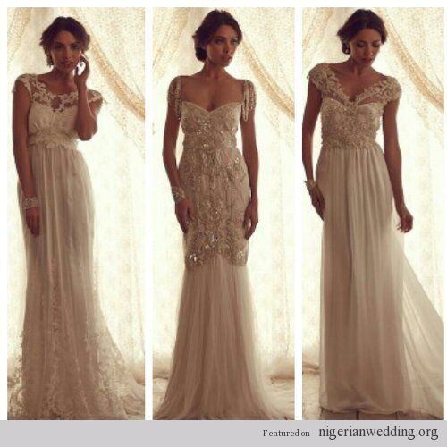 Nw bridal anna campbell 2013 gossamer collection middle for Anna campbell vintage wedding dress