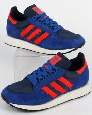adidas Trainers Adidas Forest Grove Trainers Power BlueRed