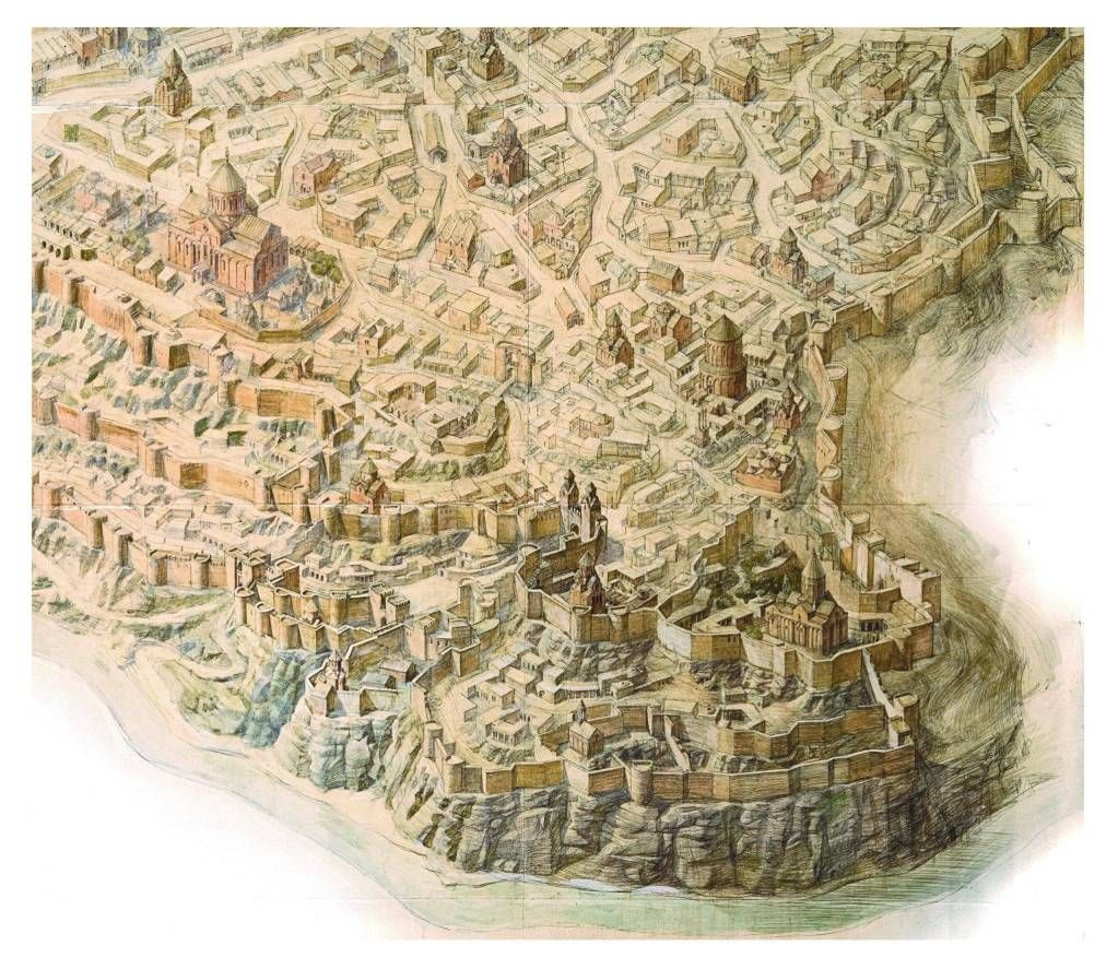 Ani City Of 1001 Churche Armenia Ancient Underground Tunnels Paraphrase Definition Francais Francai