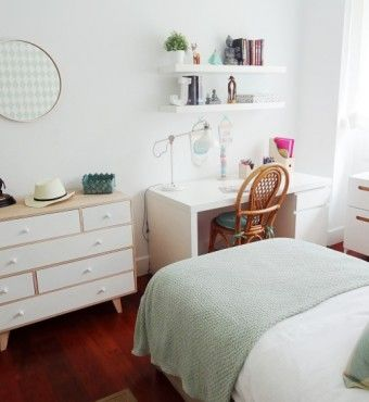 Habitaciones juveniles para chicos y chicas muebles for Habitaciones juveniles chica