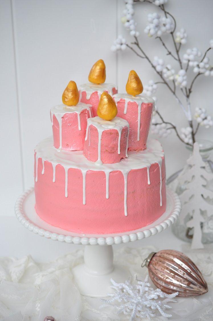Caketime By Tamaris Granatapfel Torte Mit Kerzen Kuchen Ideen
